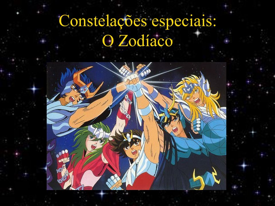 Constelações especiais: O Zodíaco