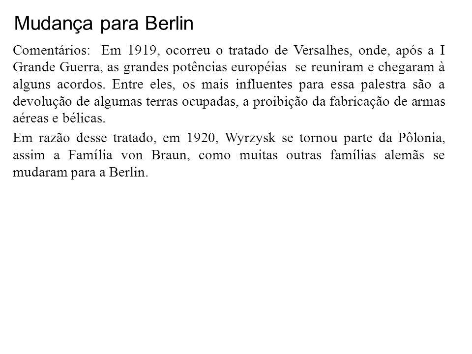 Mudança para Berlin