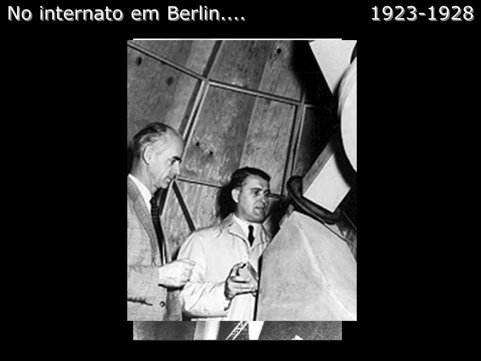No internato em Berlin.... 1923-1928