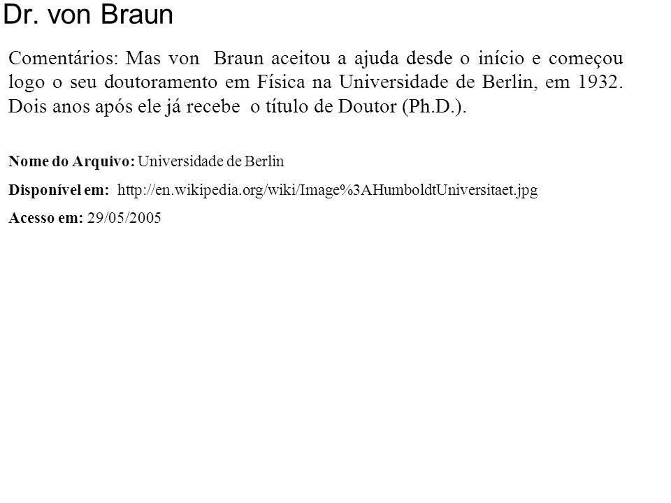 Dr. von Braun