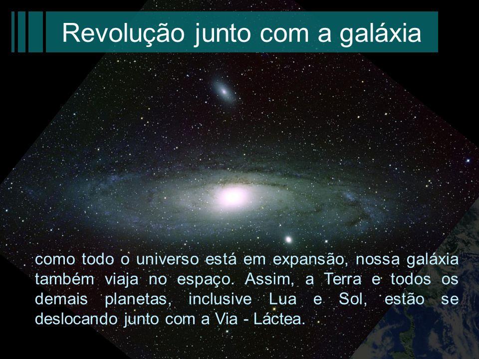 Revolução junto com a galáxia