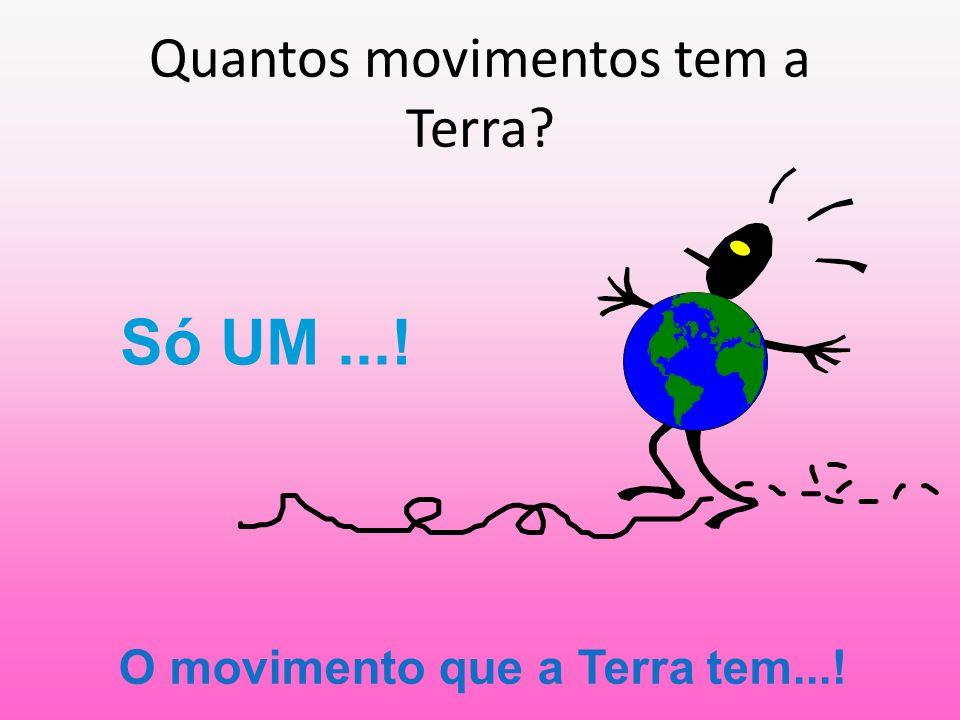 Quantos movimentos tem a Terra