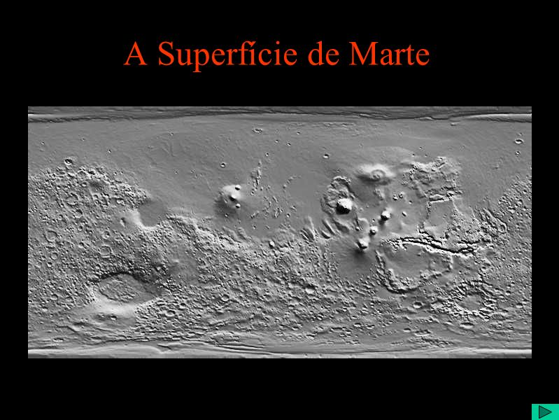 A Superfície de Marte