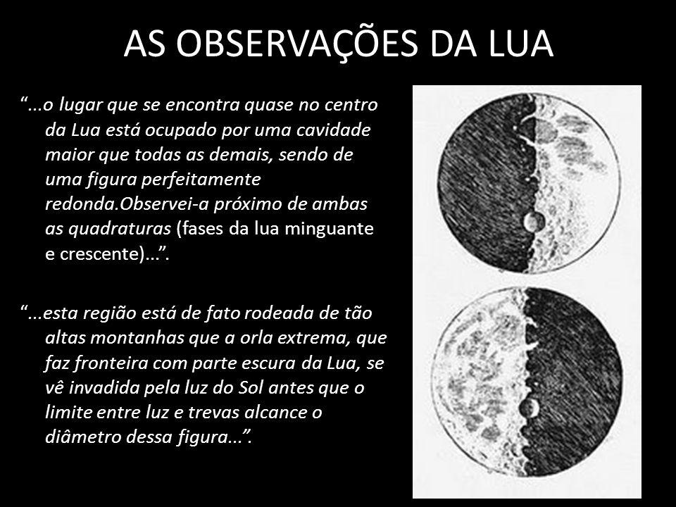 AS OBSERVAÇÕES DA LUA