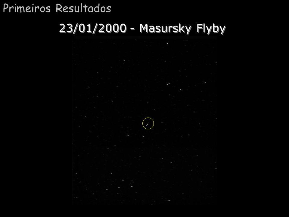 Primeiros Resultados 23/01/2000 - Masursky Flyby