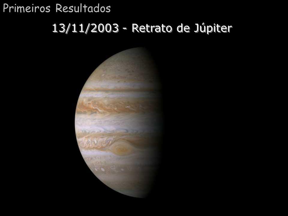 Primeiros Resultados 13/11/2003 - Retrato de Júpiter