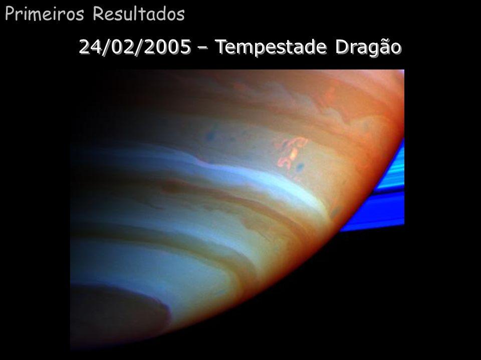 Primeiros Resultados 24/02/2005 – Tempestade Dragão