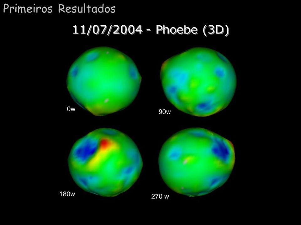 Primeiros Resultados 11/07/2004 - Phoebe (3D)