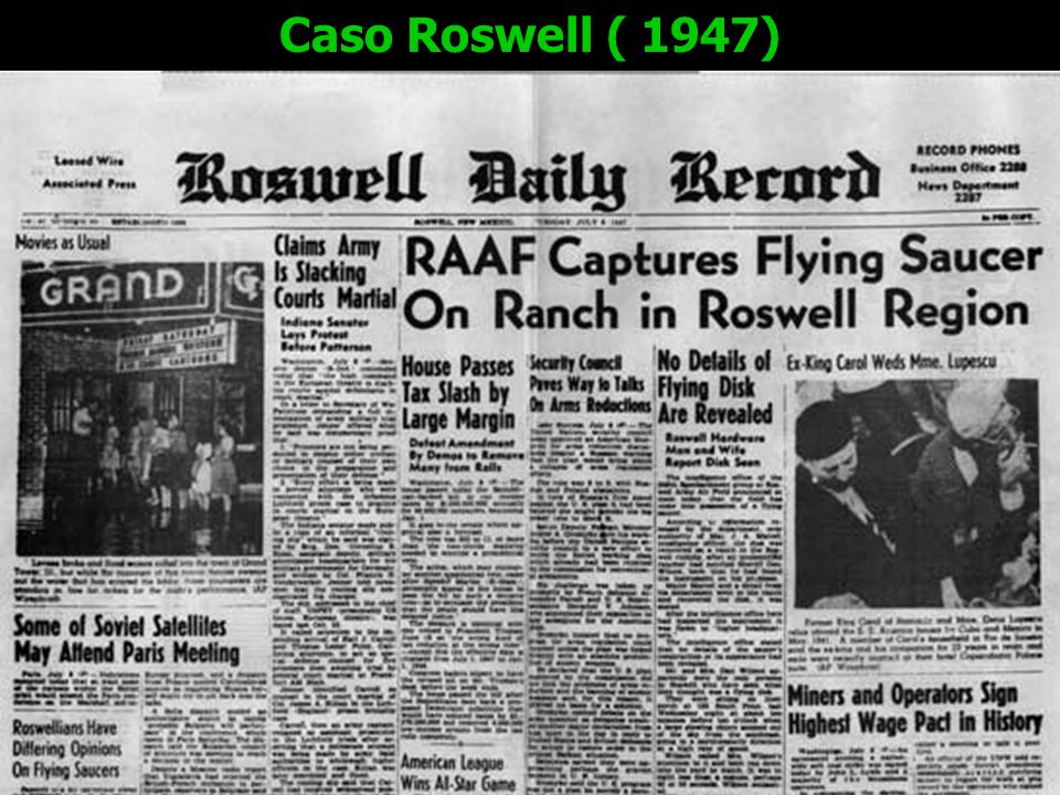 Caso Roswell ( 1947)