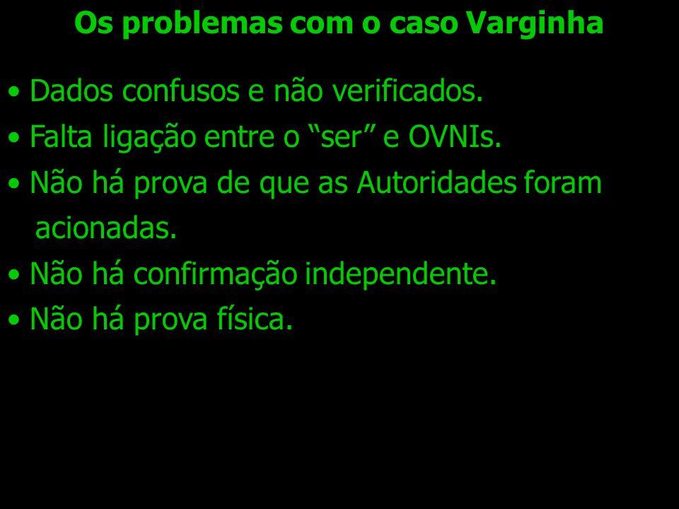 Os problemas com o caso Varginha