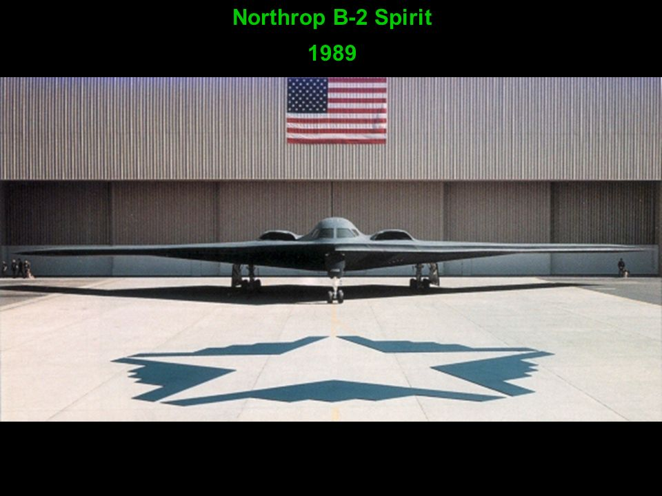 Northrop B-2 Spirit 1989
