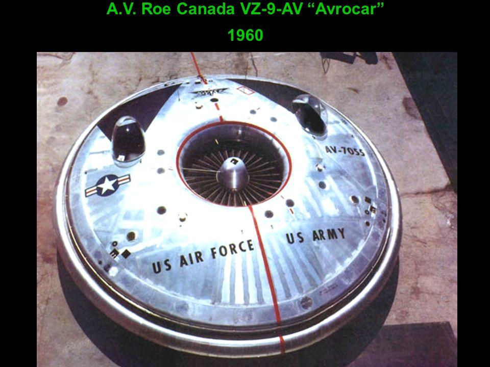 A.V. Roe Canada VZ-9-AV Avrocar