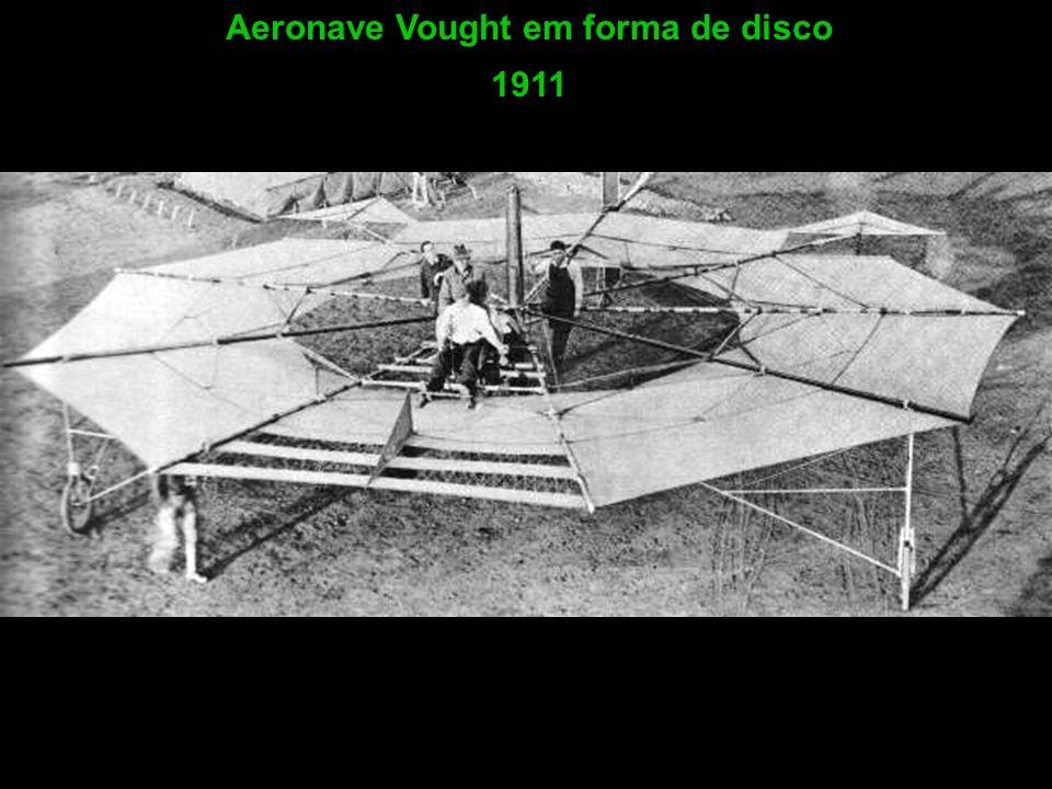 Aeronave Vought em forma de disco