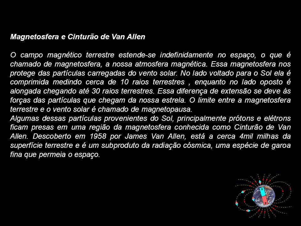 Magnetosfera e Cinturão de Van Allen