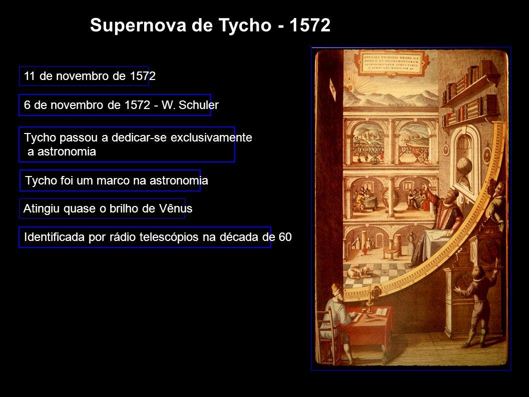Supernova de Tycho - 1572 11 de novembro de 1572