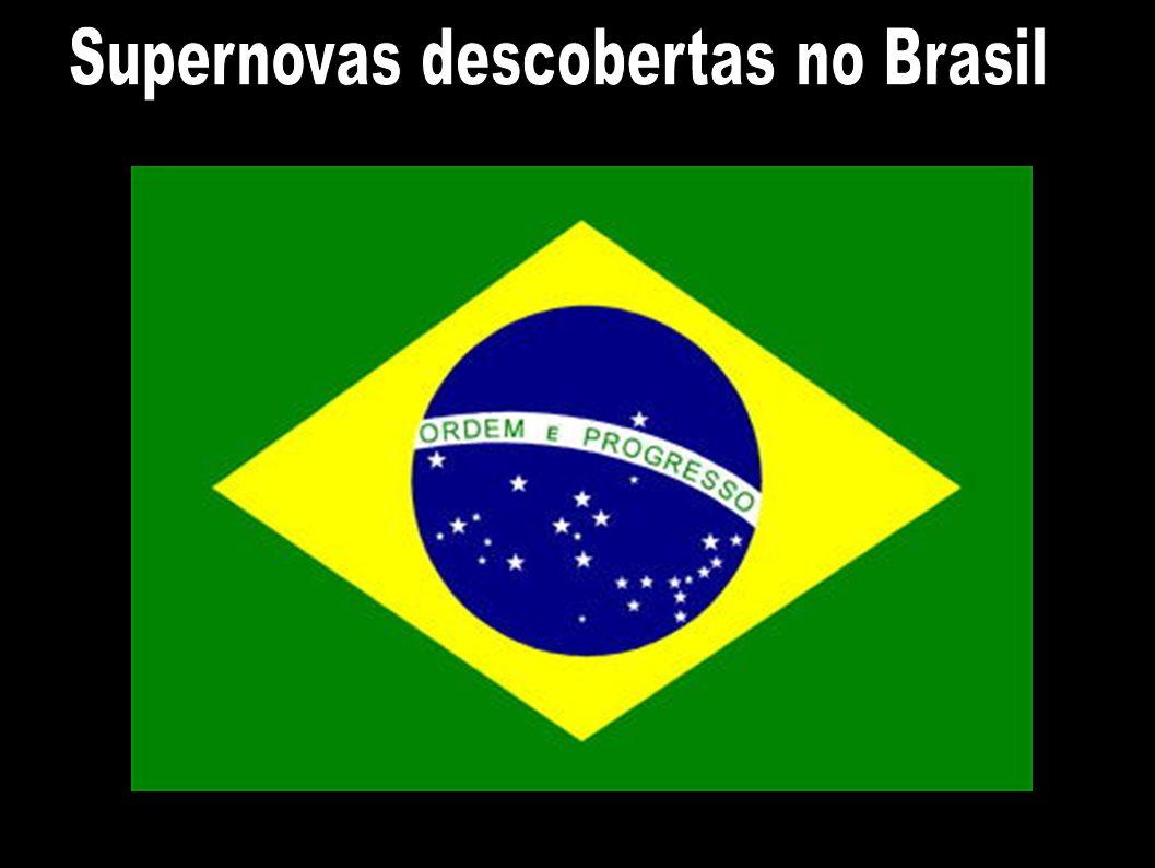 Supernovas descobertas no Brasil