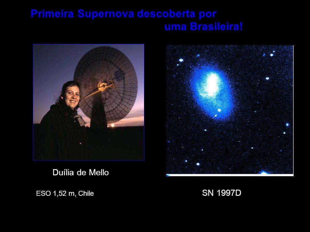 Primeira Supernova descoberta por uma Brasileira!
