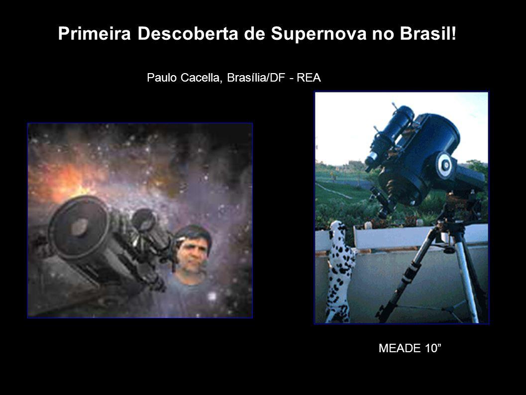 Primeira Descoberta de Supernova no Brasil!