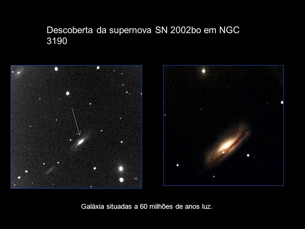 Descoberta da supernova SN 2002bo em NGC 3190