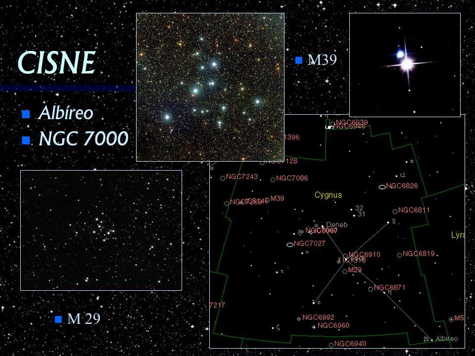 CISNE M39 Albíreo NGC 7000 M 29