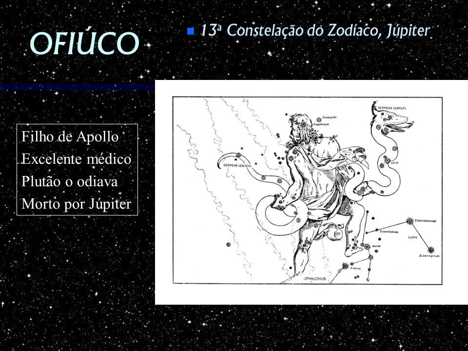 OFIÚCO 13a Constelação do Zodíaco, Júpiter Filho de Apollo