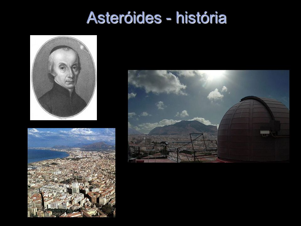 Asteróides - história
