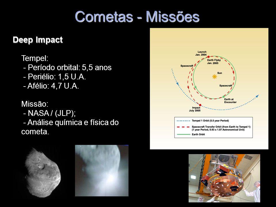 Cometas - Missões Deep Impact