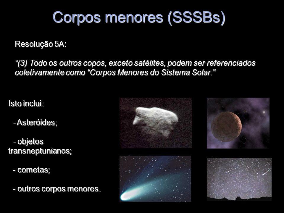 Corpos menores (SSSBs)