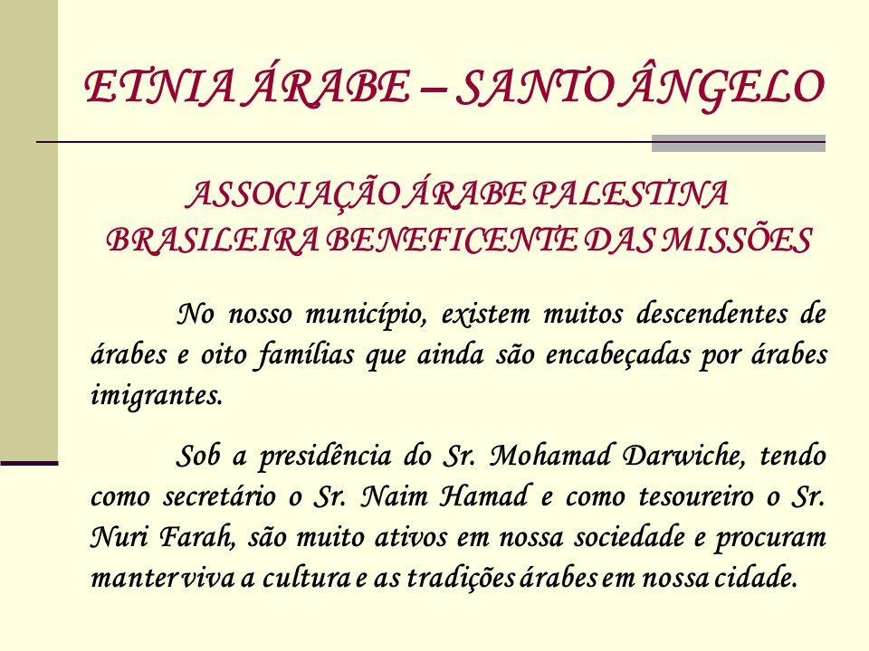 ASSOCIAÇÃO ÁRABE PALESTINA BRASILEIRA BENEFICENTE DAS MISSÕES