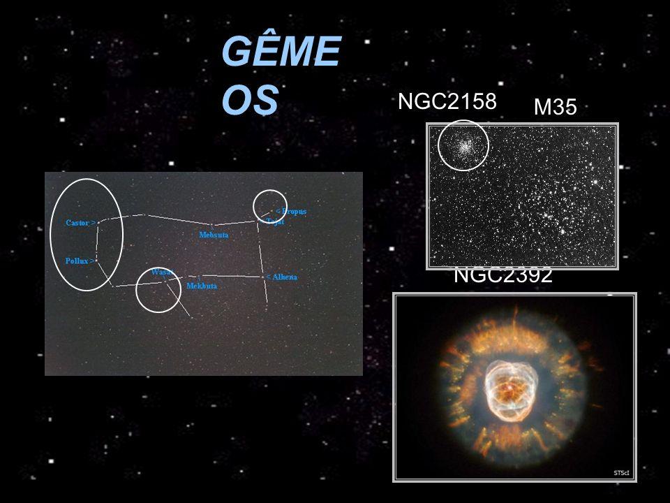 GÊMEOS NGC2158 M35 NGC2392