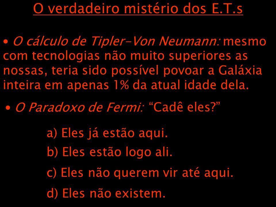 O verdadeiro mistério dos E.T.s