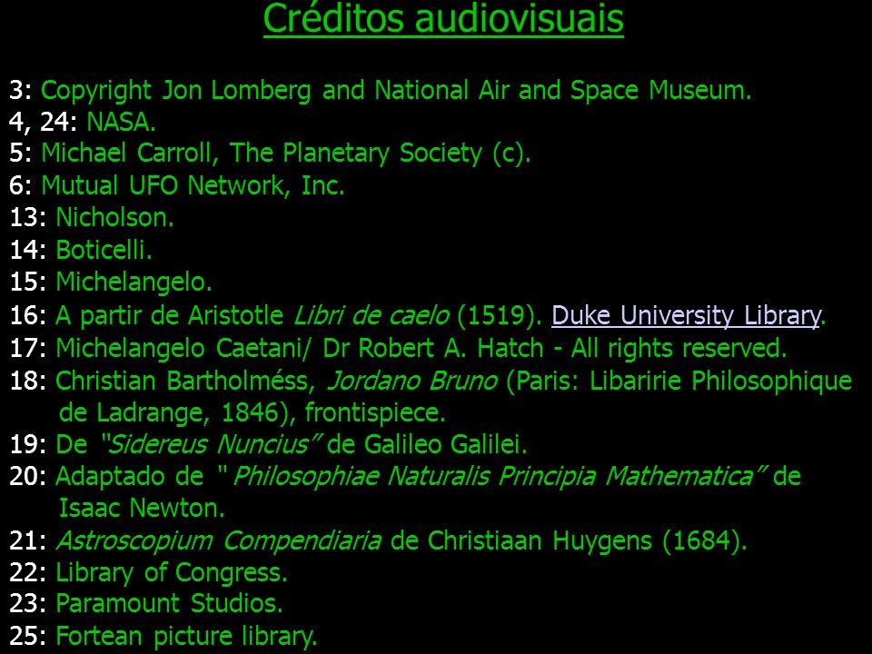 Créditos audiovisuais