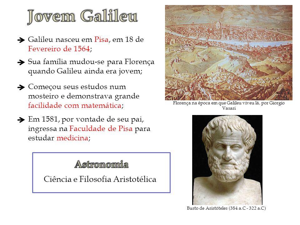 Jovem Galileu Astronomia Ciência e Filosofia Aristotélica