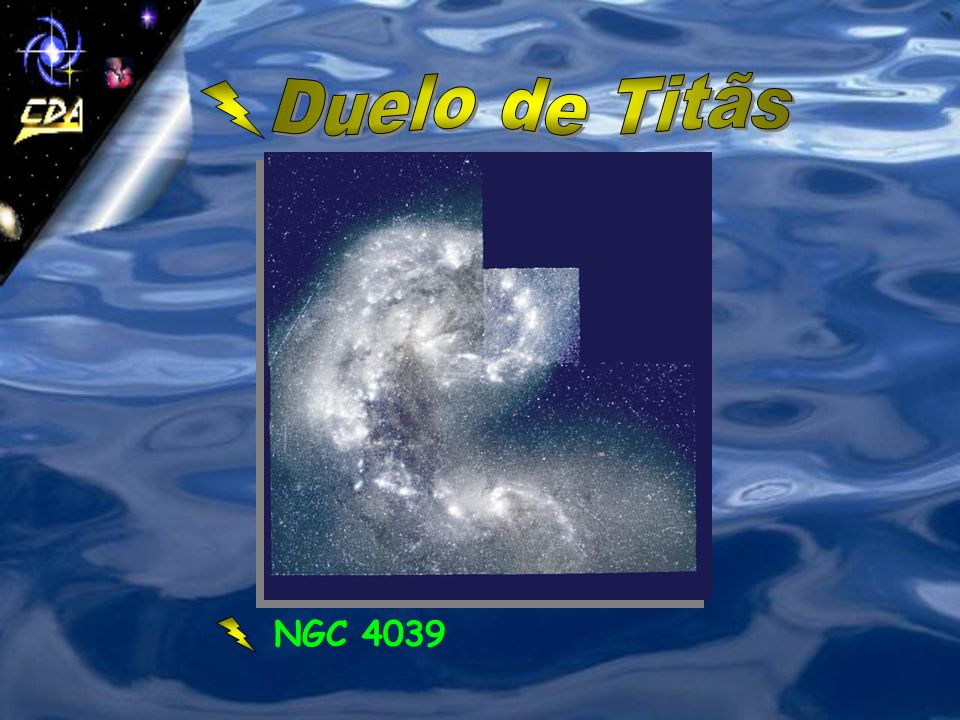 Duelo de Titãs NGC 4039