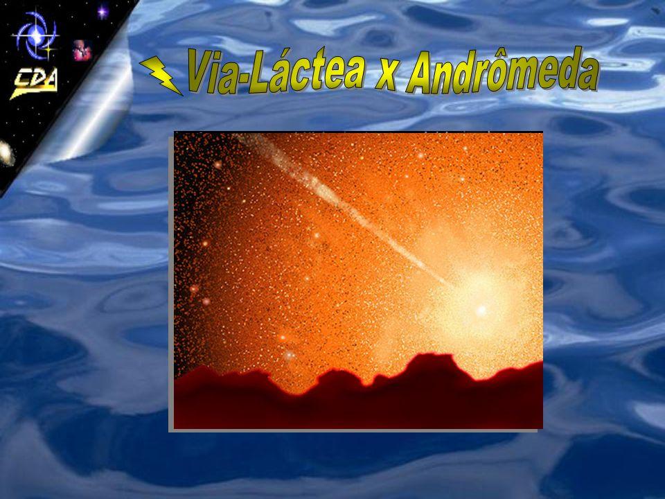 Via-Láctea x Andrômeda