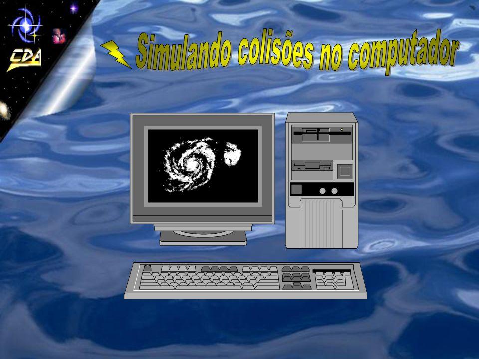 Simulando colisões no computador