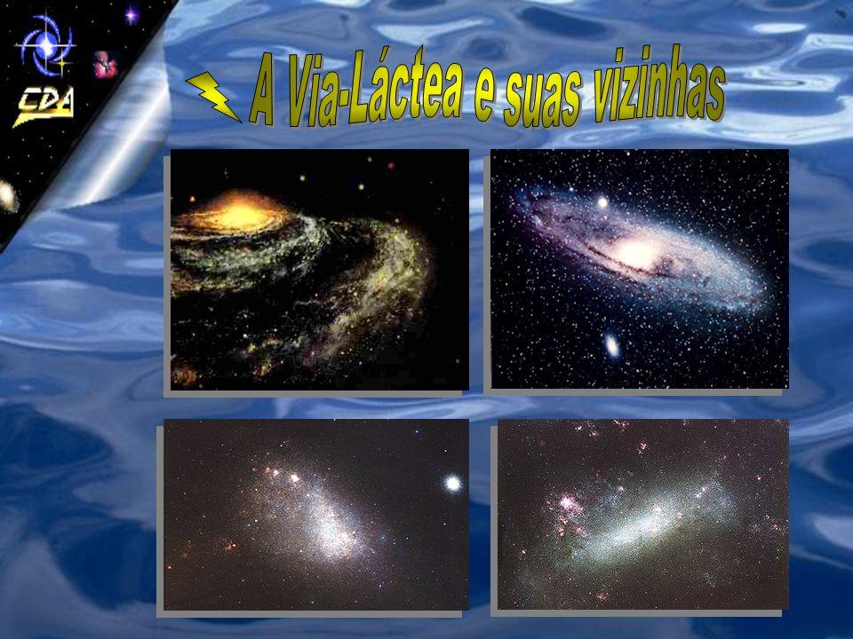 A Via-Láctea e suas vizinhas