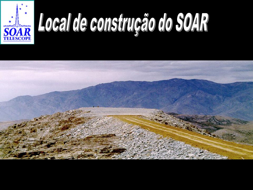Local de construção do SOAR