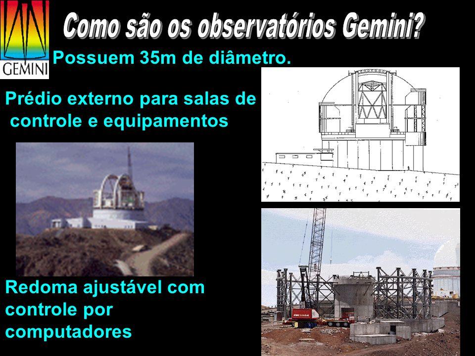 Como são os observatórios Gemini