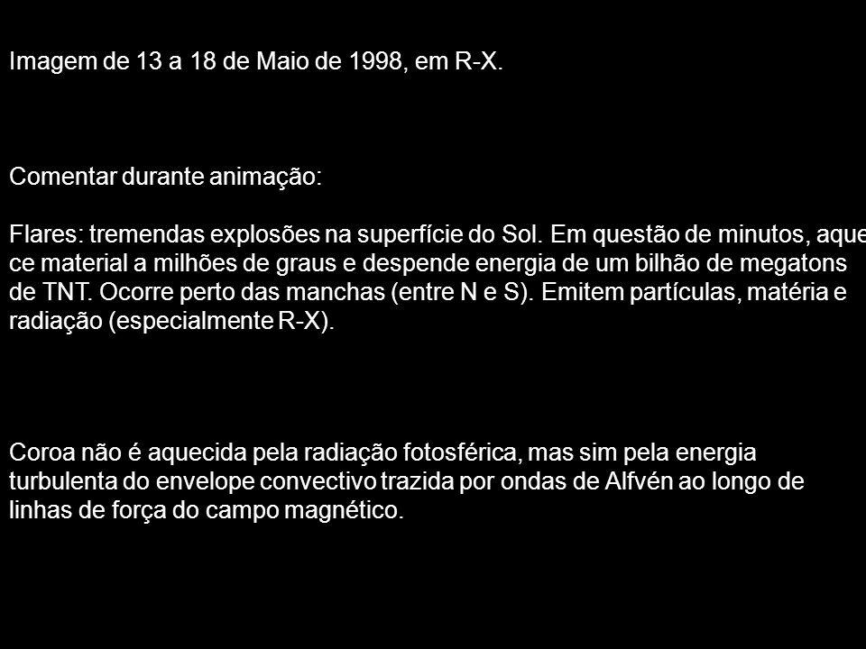 Imagem de 13 a 18 de Maio de 1998, em R-X.