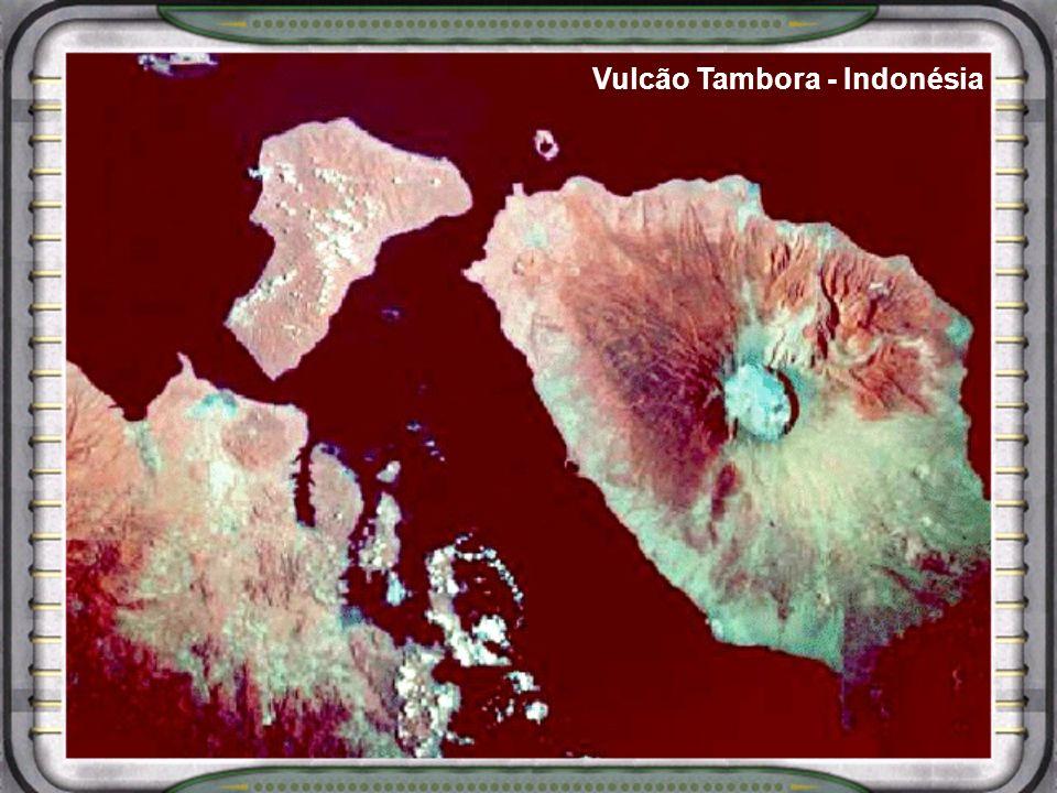 Vulcão Tambora - Indonésia