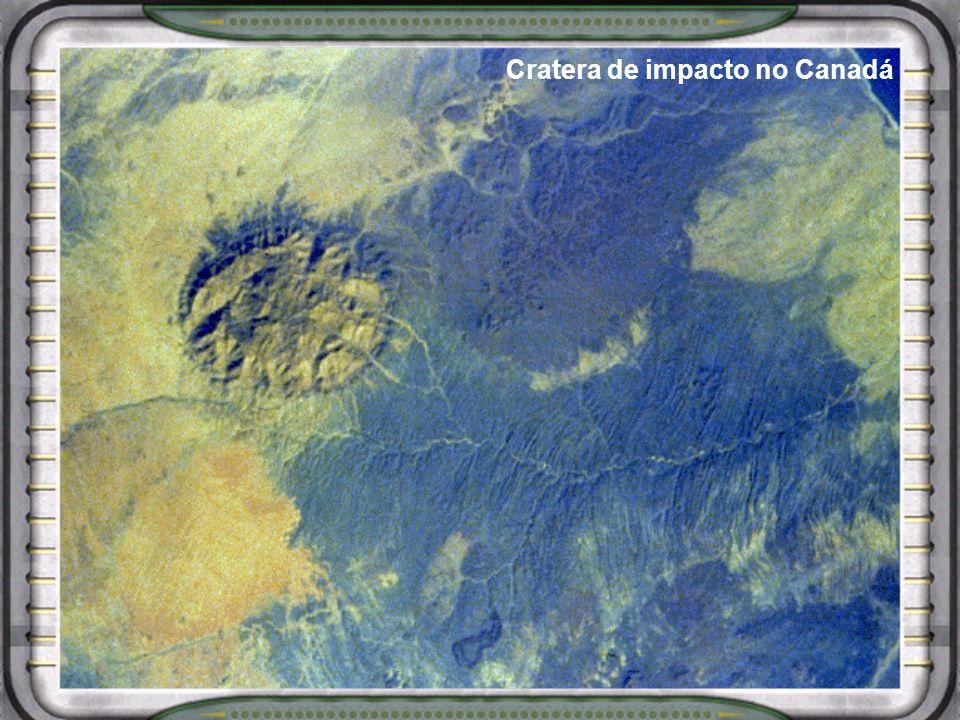 Cratera de impacto no Canadá