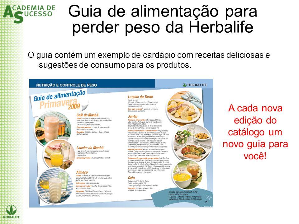 Guia de alimentação para perder peso da Herbalife