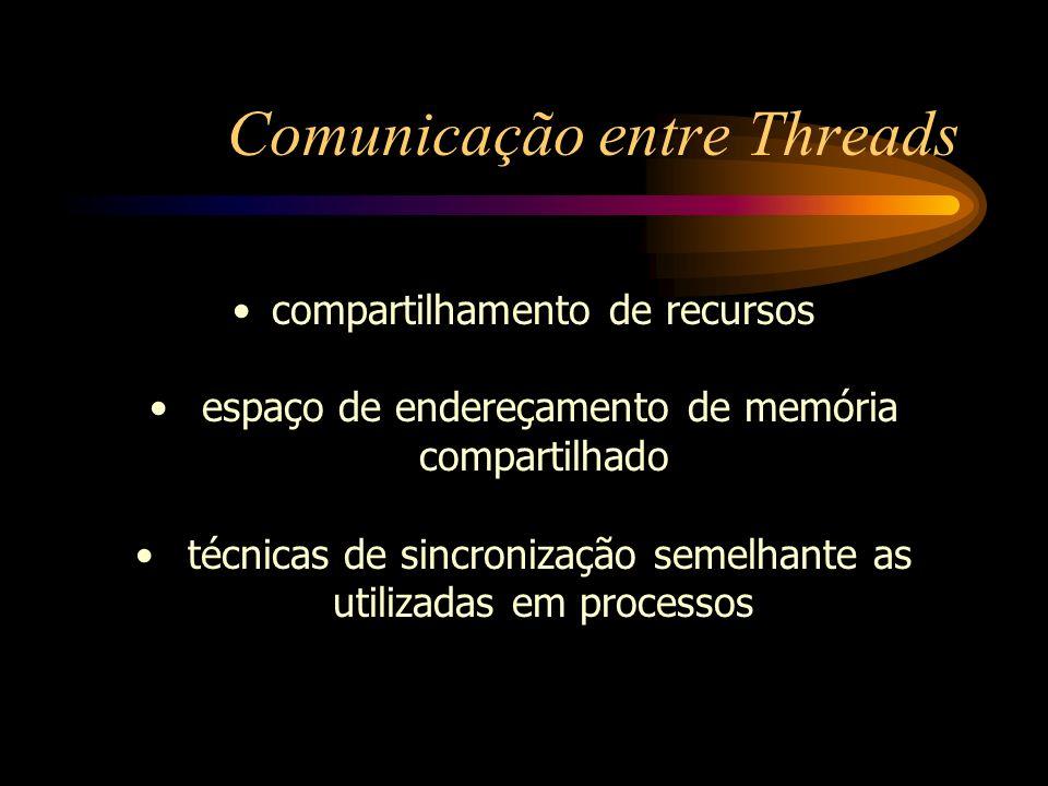 Comunicação entre Threads