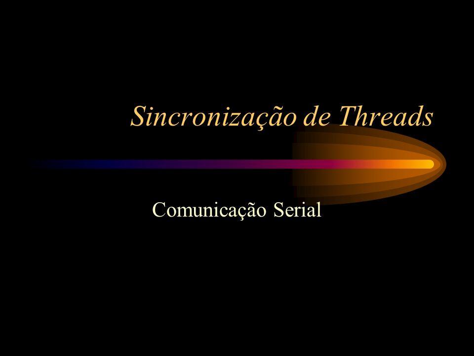 Sincronização de Threads