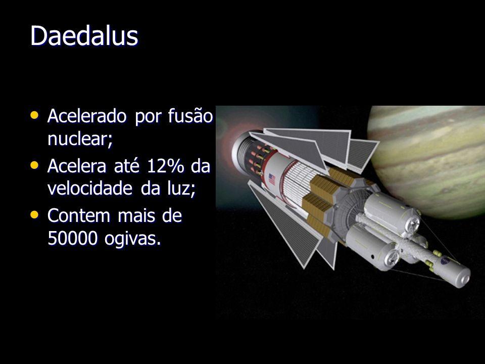 Daedalus Acelerado por fusão nuclear;
