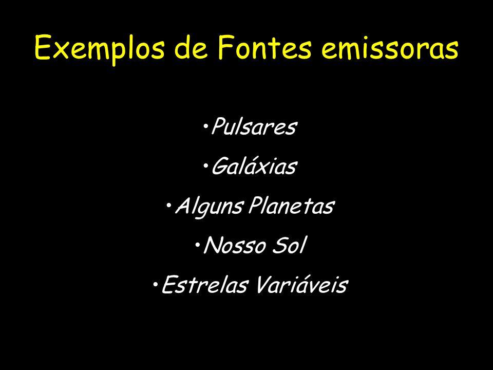Exemplos de Fontes emissoras