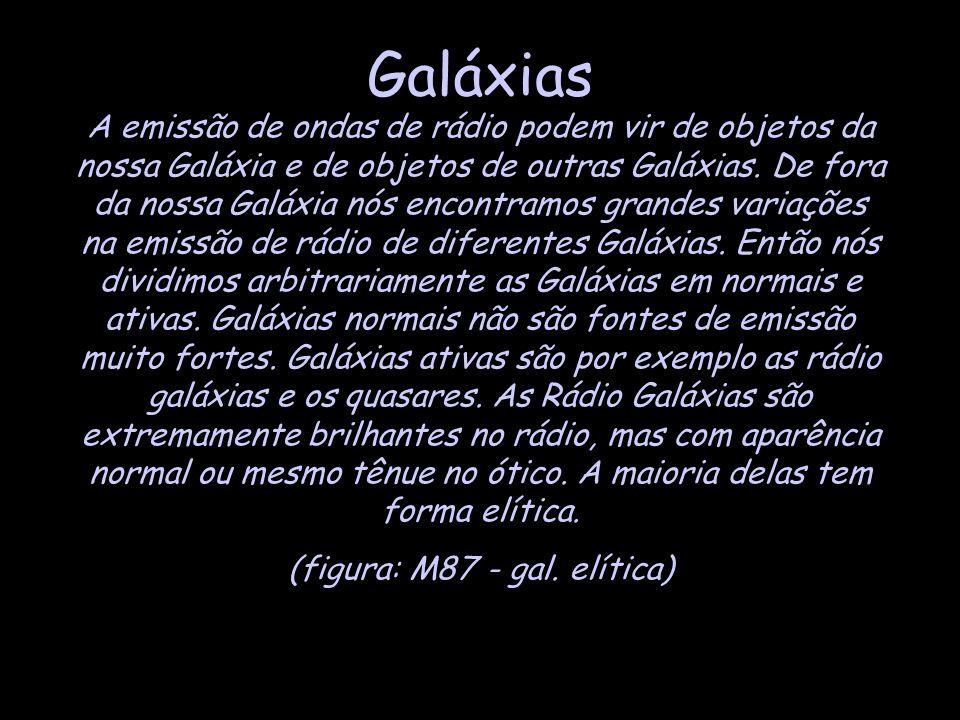 (figura: M87 - gal. elítica)