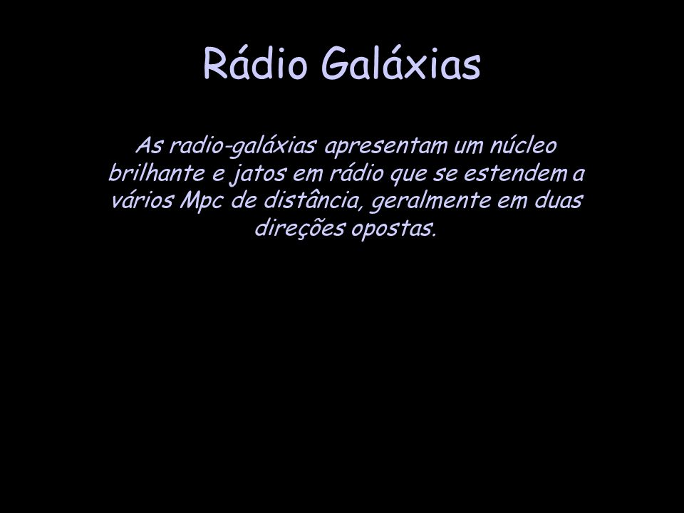 Rádio Galáxias