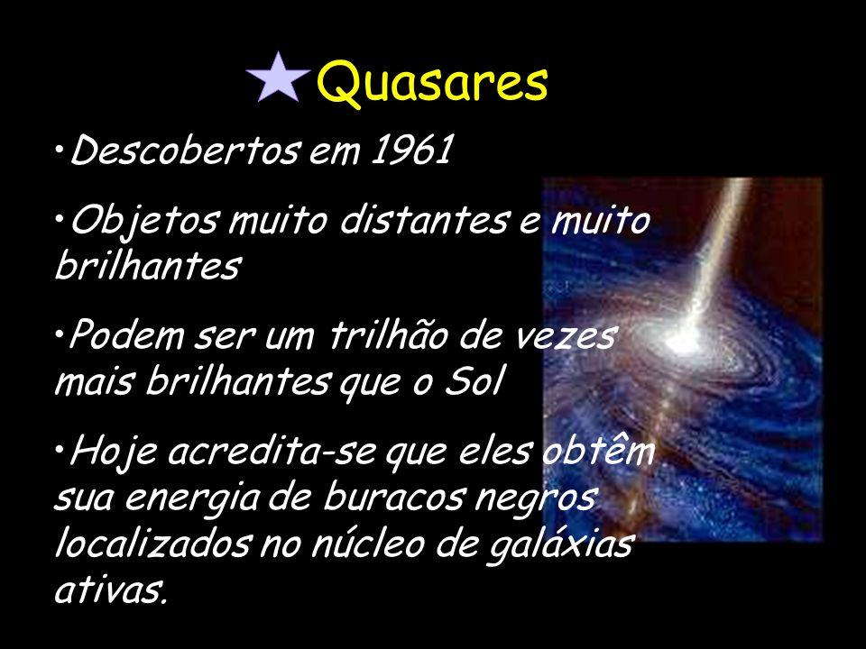 Quasares Descobertos em 1961
